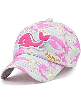Roffatide Delfín Parche Camuflaje Gorra de Beisbol Sombrero de Sol Niños Gorra de Verano Niñas Gorra de Visera...