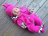 Puppenkleidung handmade Schneeanzug Skianzug Overall Winterset für little Baby Born my first Annabell Chou Gr. 32 ,Gr. 36-38 Gr. 40-45 oder Gr. 46-48 knallpink LEO