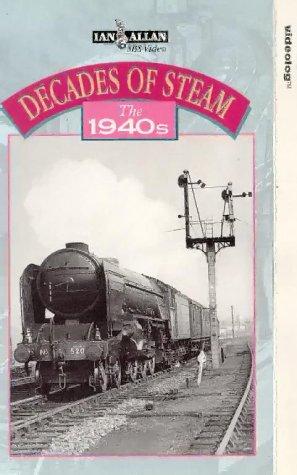 Preisvergleich Produktbild Decades Of Steam - The 1940s [VHS] [UK Import]