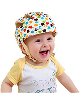 ELENKER Babyhelm Kopfschutzmütze für Kleinkind beim Lauflernen verstellbar Safety Helmet