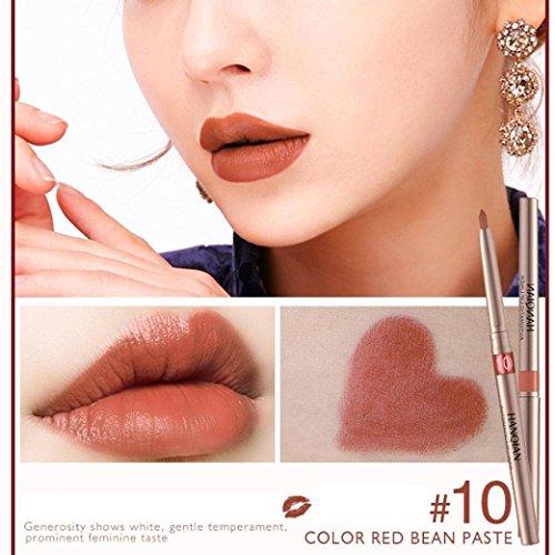 Ari_Mao Beauty Lippen Professionelle Lipliner Pen Make-up wasserdichte Lip Liner Bleistift Lippenstift (Cappuccino-lippenstift)