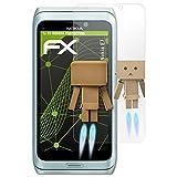 atFolix Displayschutz für Nokia E7 Spiegelfolie - FX-Mirror Folie mit Spiegeleffekt