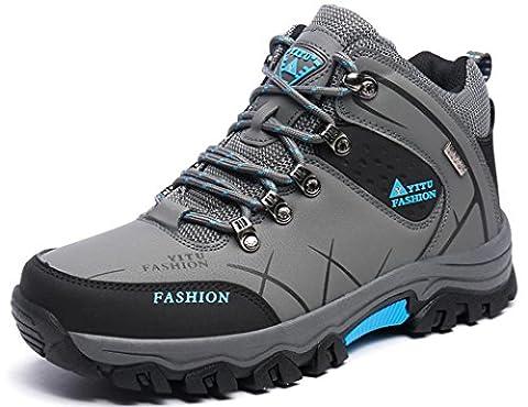 YITU Hike Trekking Wanderhalbschuhe Outdoor Sport Wander Schuhe Wasserdicht Walking Wanderstiefel Boots für Herren Damen 39-47