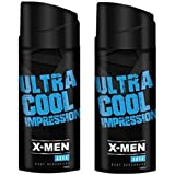 X-Men Aqua Body Deodorant Spray 150 Ml (Pack Of 2)