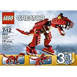 LEGO Creator Prehistoric Hunters 6914 3-In-1 T-Rex by N/A