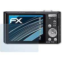 atFoliX Screen Protection Film for Sony DSC-W730 Screen Protector - 3 x FX-Clear crystal clear Protector Film