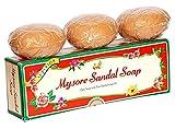 Nexxa Lot de 12 savons parfumés au bois de santal de Mysore 150g