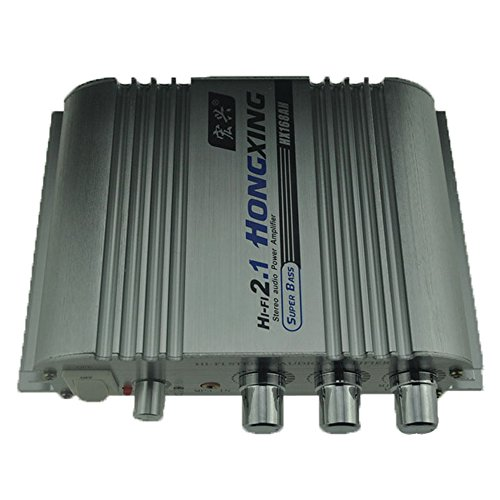 168AH Auto Verstärker Sound Mode Radio MP3 Lautsprecher LED HiFi 2-Kanal Mini Power Player Unterstützung CD DVD für Automotive