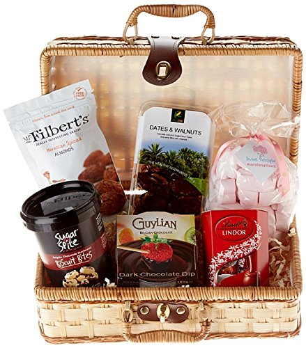 Halal Marshmallow Delight Hamper --- Chocolate, Biscuits & Nuts