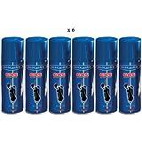 LOT DE 6 RECHARGE-UNIVERSELLE-DE-GAZ-SILVER-MATCH-POUR-BRIQUET-250-ML-NEUF