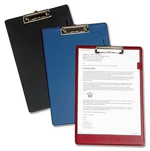 5 Star Standard-Klemmbrett Folio-Format blau