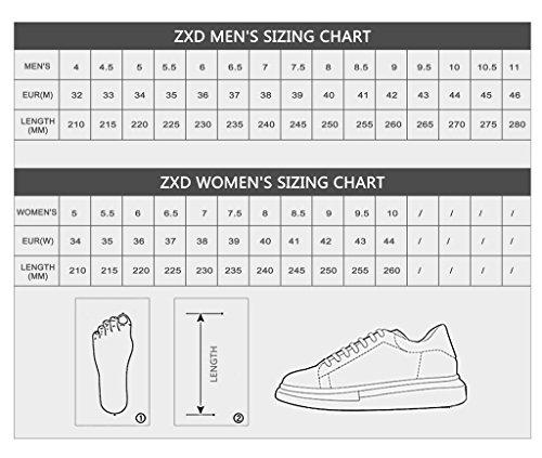 ZXD  Crep, Baskets pour femme Vert