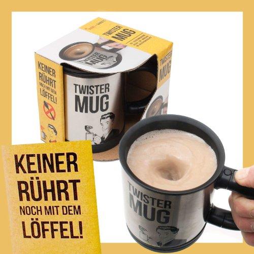 Twister Mug selbstrührender Tasse Lazy Kaffeebecher
