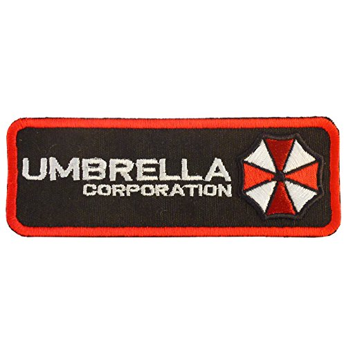 Resident Evil Umbrella Corporation Embroidered Sew Iron on Aufnäher Patch