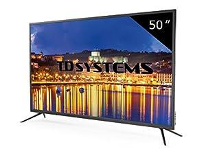 Téléviseur 50 Pouces LED Full HD TD Systems K50DLG8F. TV Full HD 1920 x 1080, 3X HDMI, VGA, USB Lecteur et enregistreur
