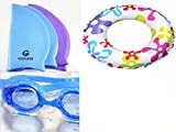 Kimaki Swimming Cap Goggle & Ring For Kids - Best Reviews Guide