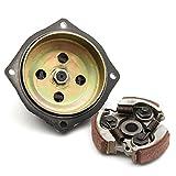 GOZAR 6 Zähne Kupplung Drum Pad Getriebe Box Kit Für 47 49Cc Mini Moto Quad Pocket Bike