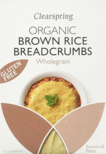 Clearspring Chapelures de Riz Complet Bio sans Gluten 250 g