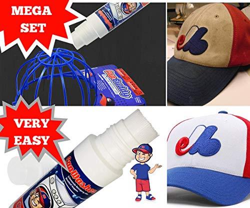 Imagen de líquido cap washer detergente & cap buddy = kit completo para limpiar todas las  de béisbol alternativa