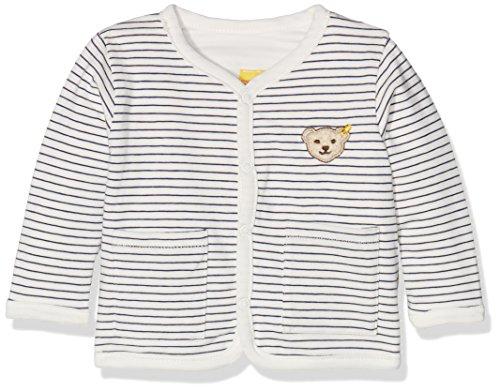Steiff Baby-Jungen Sweatshirt Sweatjacke 1/1 Arm Wendbar, Mehrfarbig (y/d Stripe 0001), 86