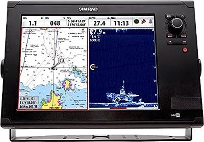 Simrad NSS12 evo2 Mapas/multifunción con pantalla de radar de banda ancha de Simrad 4 G