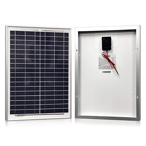 PowerECO Solar panels- Polykristalline 10W, 20W, 30W, 40W für 12V Batterien Laden - Portable-rv-generator