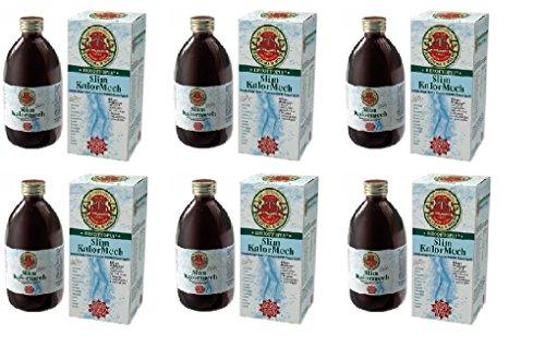 gianluca mech spa - 6 x slim kalormech decottopia tisanoreica 500 ml