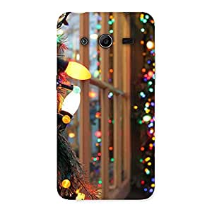 Neo World Lights Bring Happiness Back Case Cover for Galaxy Core 2