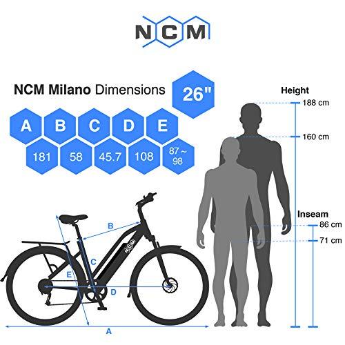 "NCM Milano 48V 26"" / 28"" Zoll Bild 5*"