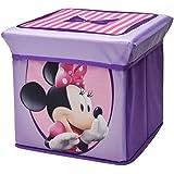Delta Children puf de almacenaje plegable Minnie