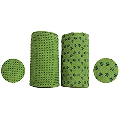 Yogasets DOXUNGO vierteilige Kombination von Yogamatte, Springseil, Expander und Yogaball