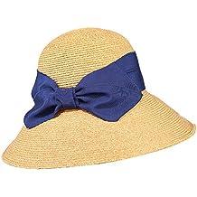 JIALUN-sombrero Sombrero de Paja Primavera-Verano Sombrero de ala Ancha de  Domo para 985668e3532