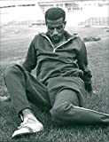 Fotomax Vintage Photo of Abebe Bikila, Marathon Runner Ethiopia