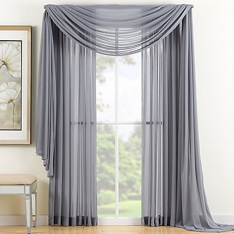 Curtains Ideas curtain panels 72 length : GorgeousHomeLinen *Various of Colors* 1 Piece #72, length 63 Solid ...