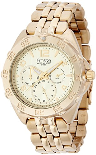 armitron-mens-multi-dial-goldtone-watch