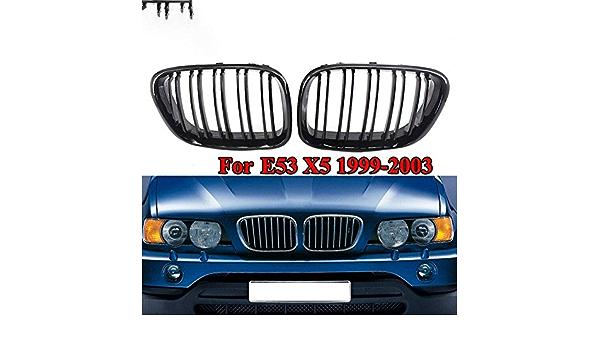 2x Reins Calandre pour BMW e53 x5 00-03 l//r set 51138250051 51138250052