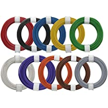 40-polig F-zu-F-Flachbandkabel f/ür Steckbrett 5 Stk Starthilfekabel Flachbandkabel Buntes 10-cm-Starthilfekabel Set