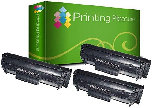 3 Toner kompatibel für Canon Fax L100 L120 L140 L160 L95 I-Sensys MF-4100 MF-4120 MF-4140 MF-4150 MF-4010 MF-4270 MF-4320D MF-4330D MF-4350D MF-4370DN MF-4380DN Laserbase PC-D440 PC-D450 | FX-10 FX-9 -