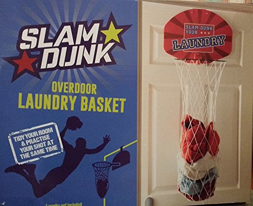 Ardisle Slam Dunk Childrens Over Door Laundry Basketball Mens Ladies Xmas Gift Basket Gift Gadget Men Boys Toy