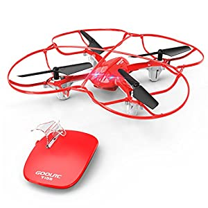 GoolRC Kids Toy Drone T100 Motional Contro 2.4 Ghz 6-Axisl for Beginners Training Quadcopter from GoolRC