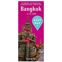 EASY MAP Bangkok: mit Krabi und Phuket, 1:15.000 (KUNTH EASY MAP / Reisekarten)