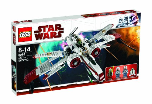 LEGO - 8088 - Jeu de Construction - Star Wars - ARC-170 Starfighter