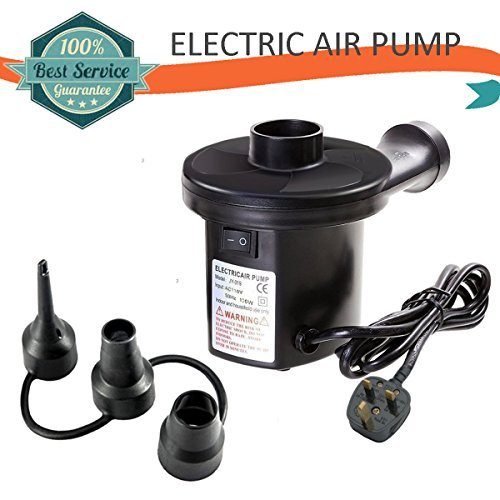 Electric Air Pump Portable Quick-Fill Inflation Device, Air Mattress Bed Pump Inflator Deflator Perfect for Inflatables Camping Mats Floats Raft Air Mattress Boat Pool Toy Adult Blow Up Doll