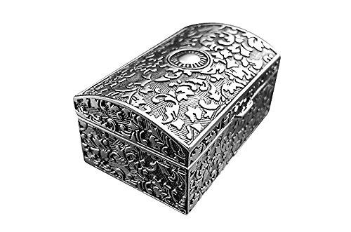Schmuckschatulle Schmuckkästchen Schmuckbox Schmuck Ring Ohrring Kette Spiegel Brillibrum Flyer Geschenke Geschenkidee Kinder (Schmuckschatulle klein) (Kinder Kommode Spiegel)