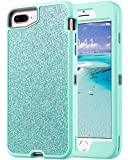 ULAK Sparkly Glitter Case for iPhone 8 Plus/iPhone 7 Plus/iPhone 6 Plus/iPhone 6S