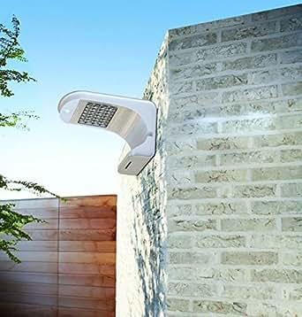 applique led nergie solaire avec panneau solaire exterieur miroir plus luminaires. Black Bedroom Furniture Sets. Home Design Ideas