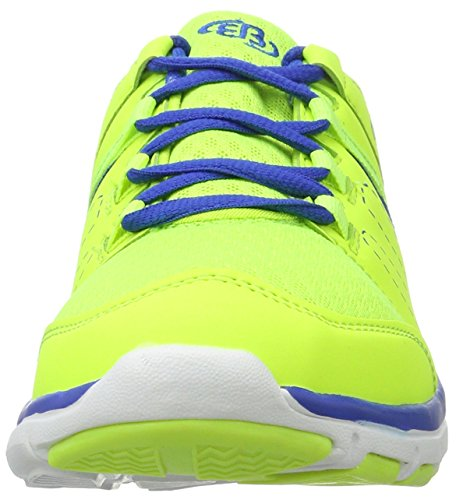 Brütting Crater, Sneakers Basses Mixte Adulte Jaune (Lemon/blau)
