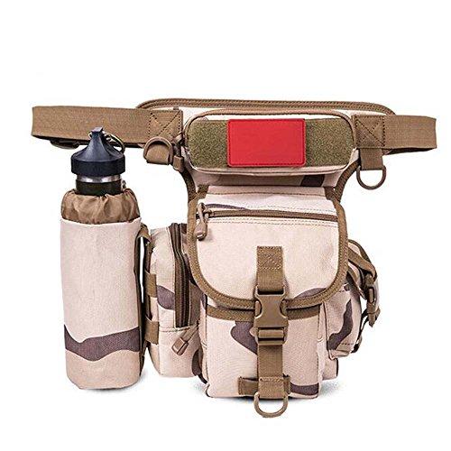 ZHANGRONG- Outdoor Beinbeutel Multifunktions-Taschen Männer Tarnungs-Freizeittasche Outdoor-Reittasche Kamera Tasche (Mehrfache Farben vorhanden) 5