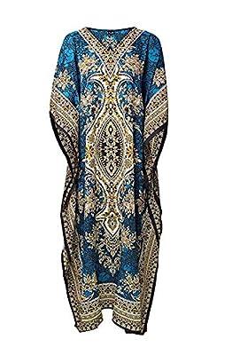 Classic Wear Kaftan Tunic Kimono Dress Ladies Summer Women Evening Maxi Plus Size Women Casual wear Sarong