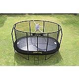 JumpKing-Trampolin OvalPod Small-Form, oval, Ø 3,5 m